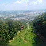mit der Gondel über Maribor